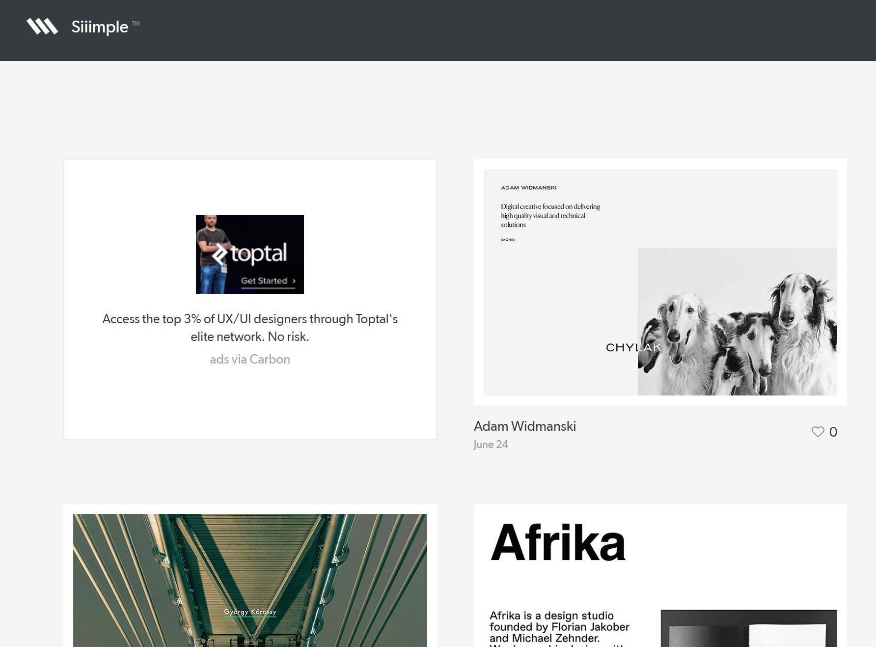 siiimple - wordpressでデザインを自作する方法とかっこいいトップページの一覧