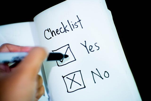 checklist 2313804 640 - Wordpressでのパンくずリストの作り方や注意点は?最も手軽なSEO対策手法を解説